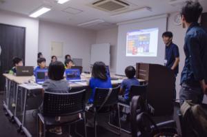 2015年夏休み小学生のパソコン体験教室の様子